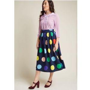 ModCloth Midi Skirt